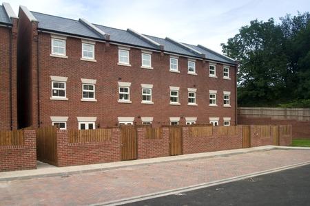New terraced housing property development