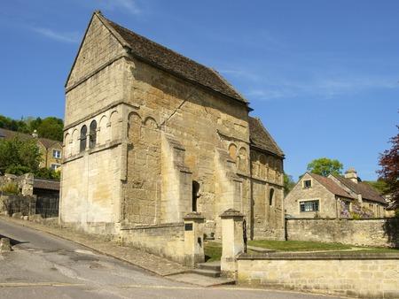 Historic Anglo-Saxon church, St Laurences,  Bradford-on-Avon, Wiltshire, UK