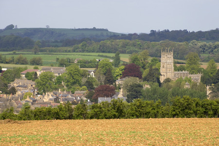 England, Gloucestershire, Cotswolds, Chipping Campden, view Stock Photo