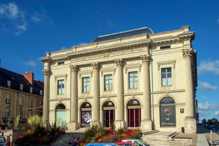 Saumur, France - 6th October 2017: Le Dome theatre building on a sunny autumn afternoon in Saumur, Maine et Loire, France