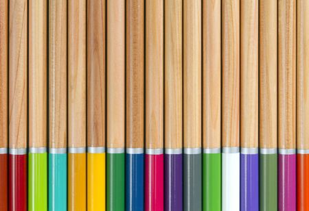 Artists watercolour pencils background
