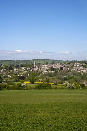 England, Gloucestershire, Painswick in the scenic Cotswold countryside in spring sunshine Foto de archivo