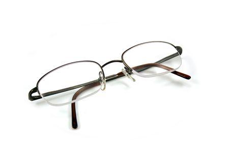Brillen geïsoleerd op witte achtergrond Stockfoto - 3098183