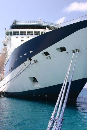 Cruise Ship anchored in port Stock Photo - 3101650
