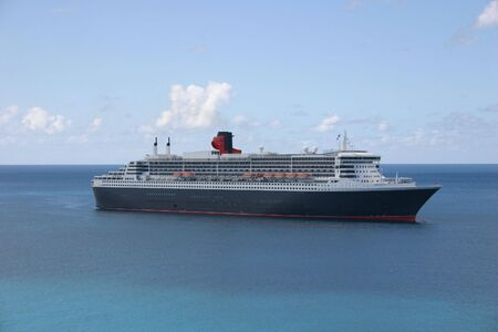 Cruise Ship in the Caribbean Stock Photo - 3101648
