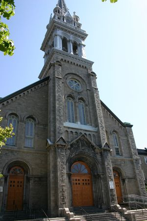 An old church located in Montreal, Quebec