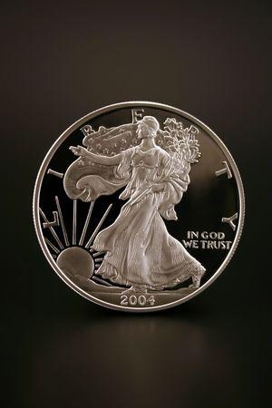 One American Eagle Silver Bullion Coin (legal tender)