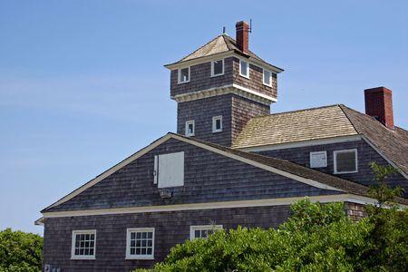 life saving: An old Life Saving Station in Sandy Hook, NJ