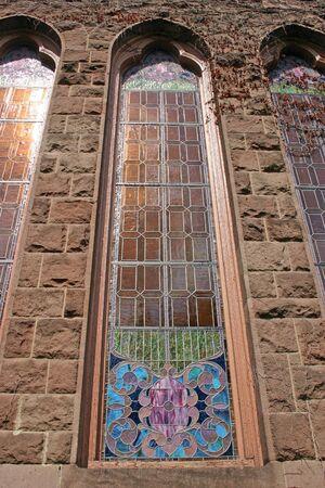 vetrate colorate: Le vetrate di una chiesa in NJ