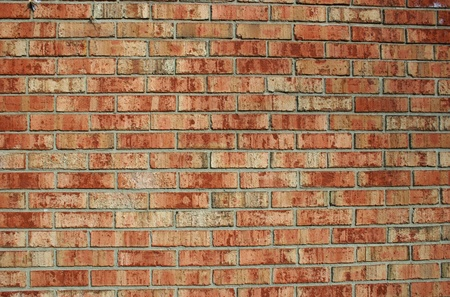 Texture of a brick wall suitable for backgrounds photo