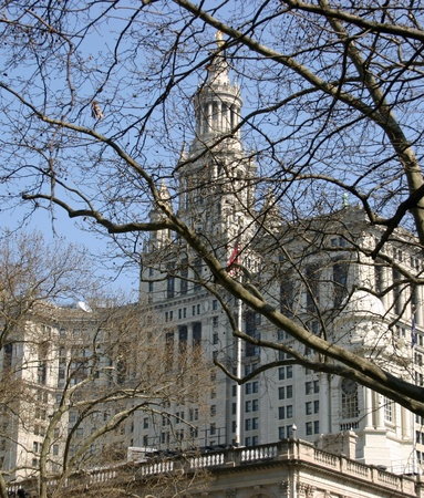 The City Hall building in New York City Stock Photo - 13142967
