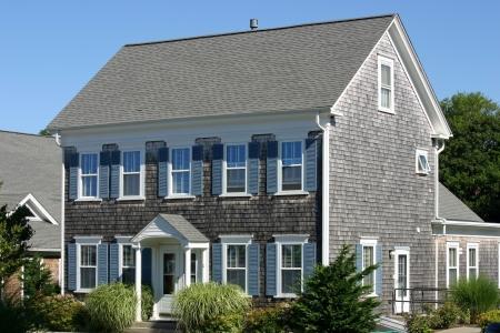 shingles: Una tradicional casa de Cape Cod en Provincetown, Massachusetts