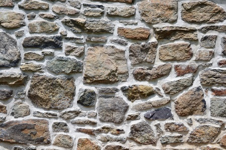 Close up of a stone wall suitable for backgrounds