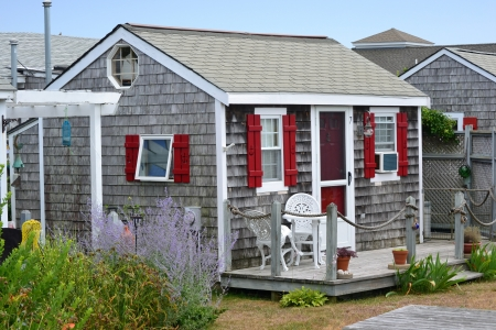 cape cod style: Een traditionele cottage in Cape Cod, Massachusetts
