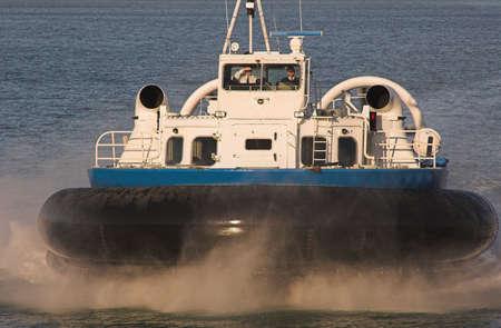 hovercraft: hovercraft,sea,blue,