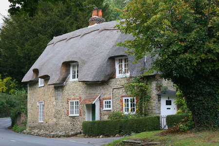 English village country cottage Stock Photo - 304511