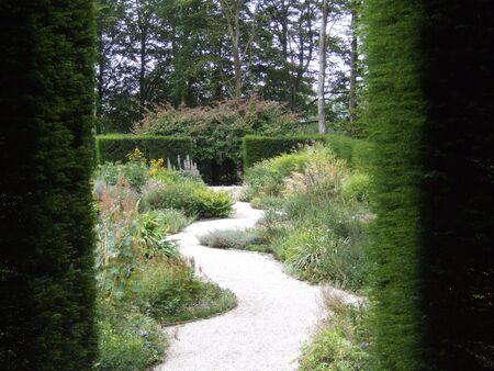 Garden path Stock fotó