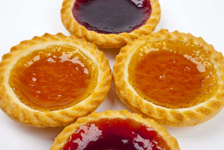 jam tarts: Strawberry and Lemon Jam Tarts.