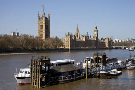 Houses of Parliament, Westminster Abbey & The River Thames photo