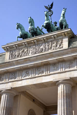 brandenburg gate: Brandenburg Gate in Berlin