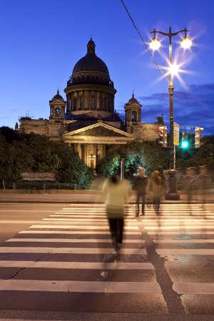 Saint Isaacs Cathedral in Saint Petersburg