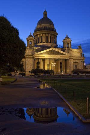 Saint Isaacs Cathedral in Saint Petersburg photo