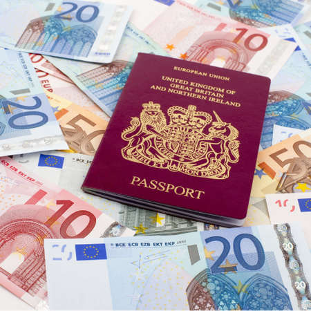 consulate: Passport and Euros