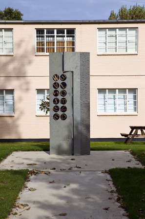 Code-breakers Memorial at Bletchley Park Stock Photo - 10995270