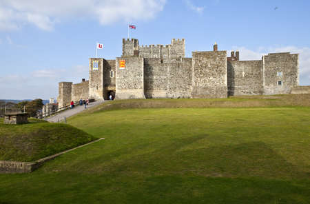 dover: Dover Castle in Kent