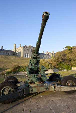 kent: WW2 Artillery and Officers Mess at Dover Castle