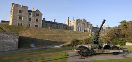dover: WW2 Artillery and Officers Mess at Dover Castle