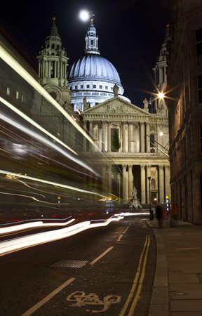 St. Pauls Cathedral at Night photo