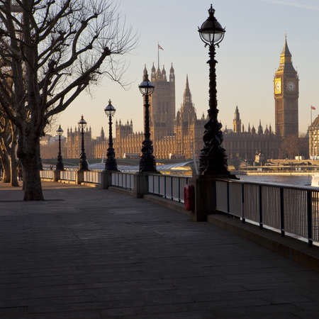 sight: Houses of Parliament from the South Bank
