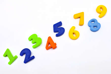 Numbers 1 to 10 Stock Photo - 12085141