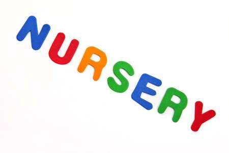 nursery education: Nursery Stock Photo