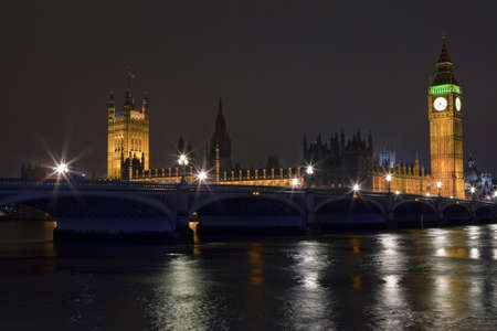 Houses of Parliament and Westminster Bridge photo
