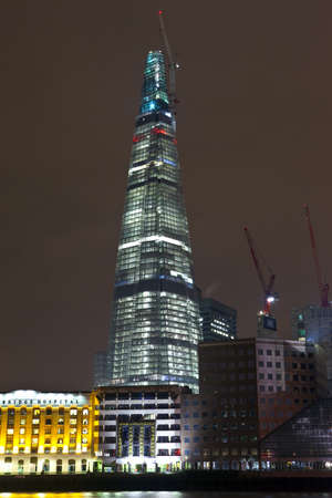shard of glass: The Shard at London Bridge
