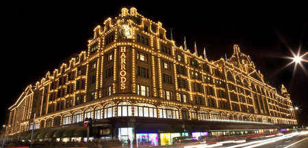 knightsbridge: Harrods in London