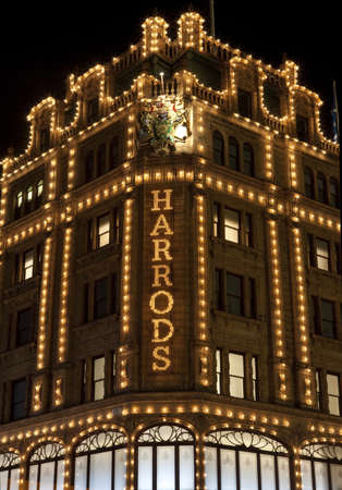 harrods: Harrods in London