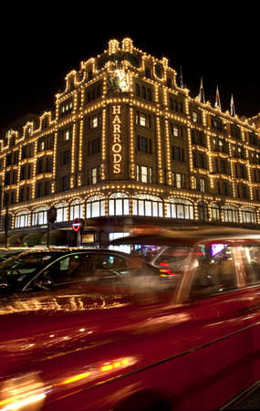 united kingdom: Harrods in London