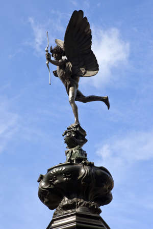 shaftesbury avenue: Eros statue at Piccadilly Circus