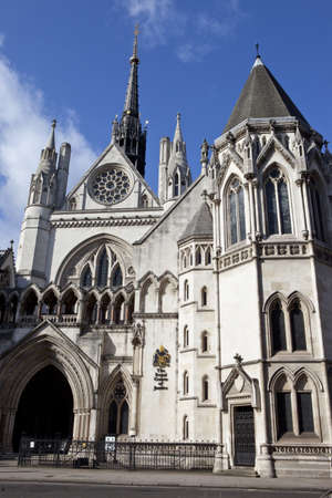 The Royal Courts of Justice in London Stock Photo - 12937400