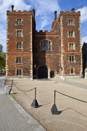 Lambeth Palace in London.  The official residence of the Archbishop of Canterbury. Stock Photo - 14311654