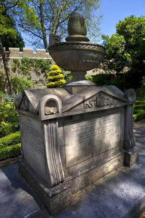 The tomb of William Bligh located at St Mary at Lambeth church (The Garden Museum) in London. Stock Photo - 14311650