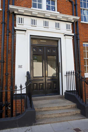 chelsea: The historic Chelsea Manor Studios in London.