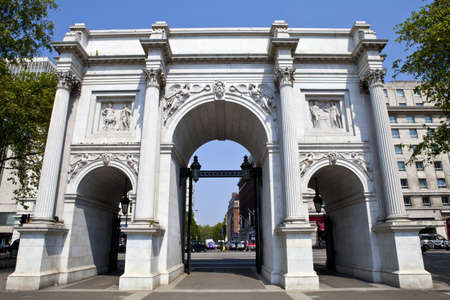 A view of Marble Arch in London. Stock Photo - 14340914