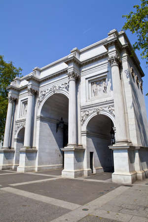 A view of Marble Arch in London. Stock Photo - 14354901