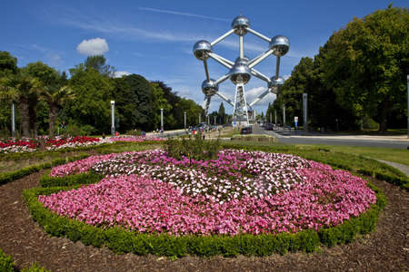 belgie: Aomium Monument in Brussel