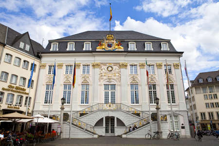 townhall: Town Hall (Rathaus) of Bonn in Germany