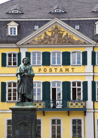 beethoven: Beethoven statue in Bonn, Germany.
